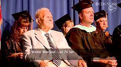 91-latek ukończył szkołę średnią