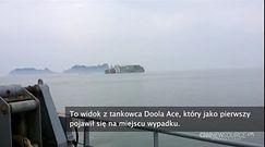 Film nagrany tuż przed zatonięciem promu Sewol