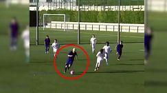 #dziejesiewsporcie: 11-letni syn byłej gwiazdy Barcelony zachwyca. Co za rajd!