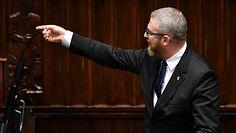 Skandaliczne słowa Grzegorza Brauna w Sejmie. Polityk PiS mówi wprost