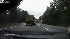Tragedia na drodze. Wypadek wojskowego konwoju