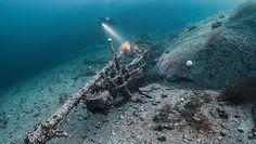 Niemiecki wrak u brzegów Norwegii. Niezwykłe zdjęcia niszczyciela Z2 Georg Thiele