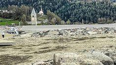 Legendarne zatopione Curon odsłonięte. Niezwykłe, nowe zdjęcia z Włoch