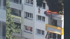 Pożar we Francji. Dzieci wyskoczyły z trzeciego piętra