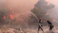 Chorwacja płonie. Strażacy walczą z pożarem w okolicach Trogiru