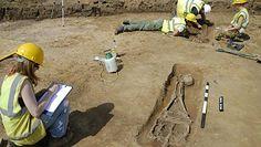 Szkielety bez głów sprzed 1700 lat. Niezwykłe odkrycie archeologów w Wielkiej Brytanii