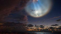 Mgławica na niebie. Niezwykły widok