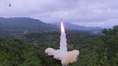 Korea Północna pręży muskuły. Wystrzelenie rakiety z pociągu