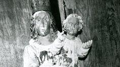 Wspaniała rzeźba z kościoła w Gołębiu