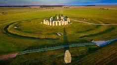 Odkryli nowy krąg w Wielkiej Brytanii. Tajemnicza granica świętego miejsca