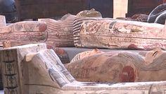 Egipskie trumny. Sensacja archeologiczna sprzed 2,5 tys. lat