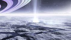Księżyc Saturna. Zaskakujące odkrycie pod grubą warstwą lodu Enceladusa