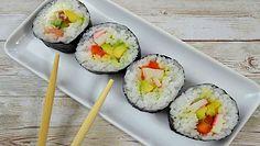 Przepis na domowe sushi