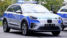 Elektryczne samochody na służbie w policji