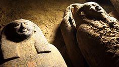 Odkryli zapieczętowane trumny sprzed 2500 lat