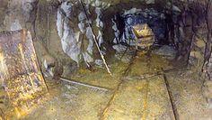 Dron w podziemnym szybie z II wojny światowej. Niezwykłe zdjęcia z Dolnego Śląska