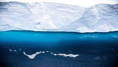 Kolosalna góra lodowa. Jest na kursie kolizyjnym z lądem
