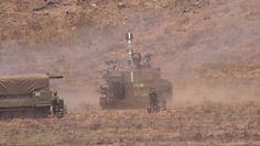 Izraelskie czołgi w stanie gotowości na granicy z Syrią