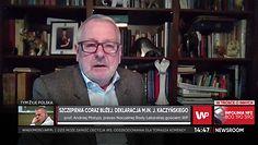 """Koronawirus w Polsce. Prof. Matyja o szczepieniach. """"Nie wolno nam słuchać szamanów"""" (WIDEO)"""