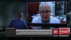 Jarosław Kaczyński przyjmie szczepionkę na COVID. Prof. Flisiak chwali prezesa PiS