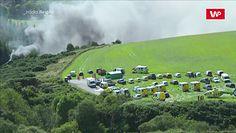 Wykolejenie pociągu w Szkocji. Wideo z miejsca zdarzenia