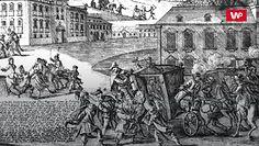 Zamach na króla Stanisława Augusta. O tym mówiła cała Europa