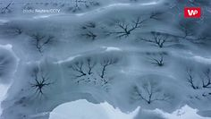 Sztuka na lodzie. Niezwykłe zamarznięte jezioro
