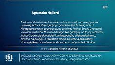Mocne przemówienie Holland. Stanowcza reakcja z PiS