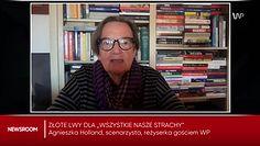 """Agnieszka Holland o Złotych Lwach dla filmu """"Wszystkie nasze strachy"""". Dopiekła Kurskiemu"""