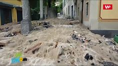 Powódź i lawiny błotne nad jeziorem Como. Dramatyczne nagrania świadków z Włoch