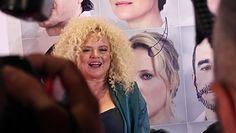 56-letnia Katarzyna Figura kusi na ściance