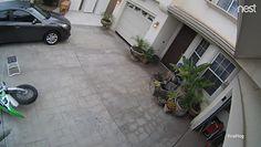 Niudany załadunek motocykla. Pechowiec nagrał swój popis własną kamerą