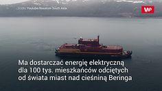 """""""Pływający Czarnobyl"""". Rosyjska elektrownia atomowa na statku"""