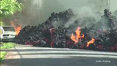 #dziejesiewmoto: lawa niszczy Forda Mustanga, niecierpliwy kierowca busa i wyprzedzanie na gazetę