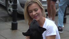 Joanna Krupa maszerowała z psami