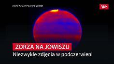 Zorza na Jowiszu. Niezwykłe zdjęcia w podczerwieni