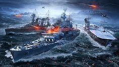 """""""World of Warships"""" - zwiedzamy okręt i testujemy grę"""