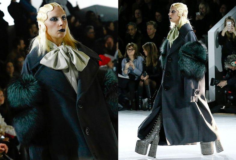 Lady Gaga na wybiegu u Marca Jacobsa
