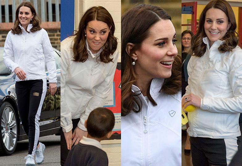 Księżna Kate odwiedziła szkołę podstawową w Mitcham