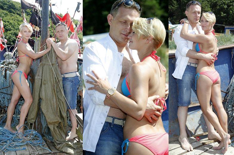 Robert Moskwa z młodszą kochanką