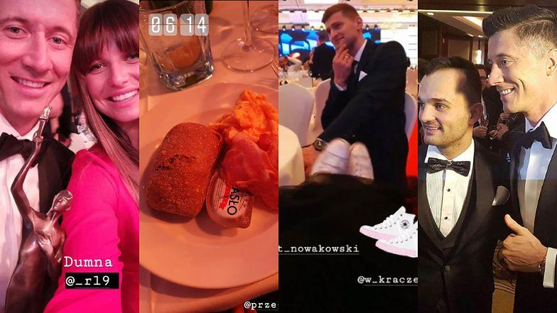 Bal Mistrzów Sportu: dumna z męża Lewandowska, Zborowska w trampkach, tańce do białego rana i... słynna jajecznica (ZDJĘCIA)