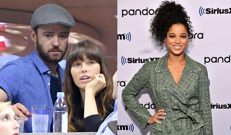 """Justin Timberlake """"przyłapany"""" na wymianie czułości z koleżanką z planu. Nie miał obrączki na palcu..."""