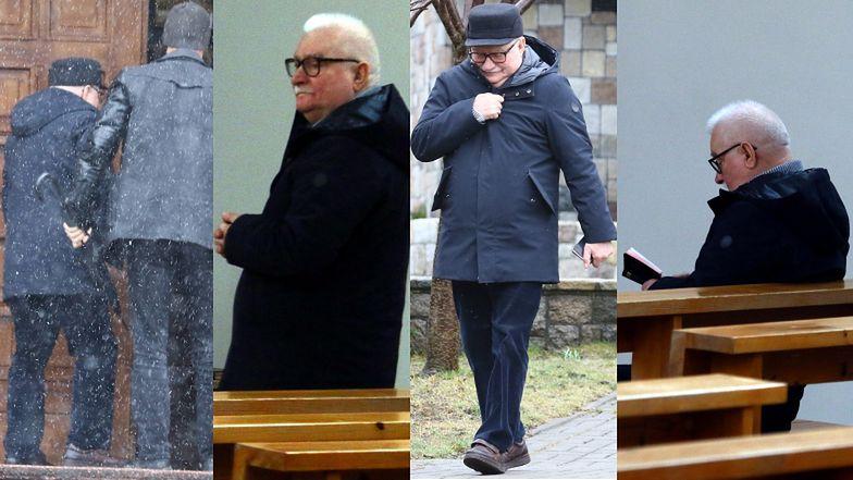 Lech Wałęsa RYZYKUJE PO RAZ KOLEJNY, udając się do kościoła