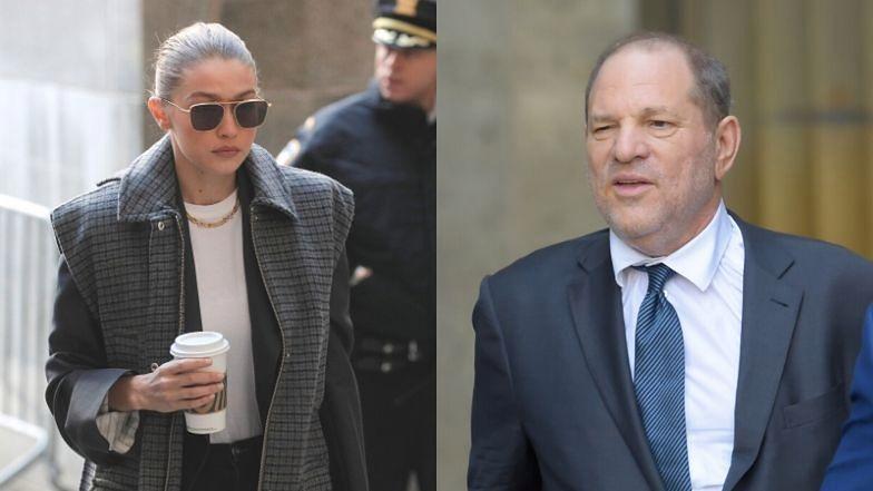 Gigi Hadid jednak NIE ZASIĄDZIE w ławie przysięgłych podczas procesu Harveya Weinsteina
