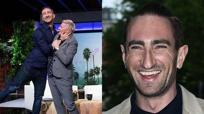 """Łukasz Jakóbiak obchodzi dziś ważną rocznicę. To już 3 LATA, odkąd """"król wizualizacji"""" (nie) spotkał się z Ellen DeGeneres..."""