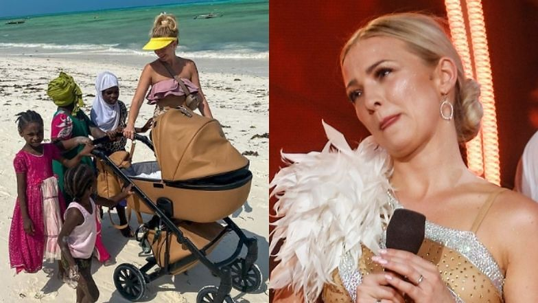 """Barbara Kurdej-Szatan nie widzi problemu w reklamowaniu wózka na tle zanzibarskich dzieci: """"PRZESTAŃCIE DRAMATYZOWAĆ"""""""