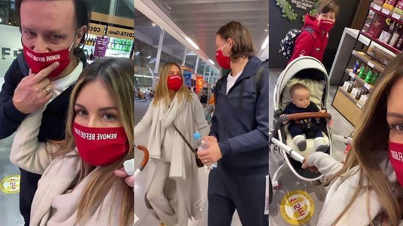 """Małgorzata Rozenek pozdrawia z lotniska przed rodzinną wyprawą: """"Lecimy BARDZO DALEKO"""" (ZDJĘCIA)"""