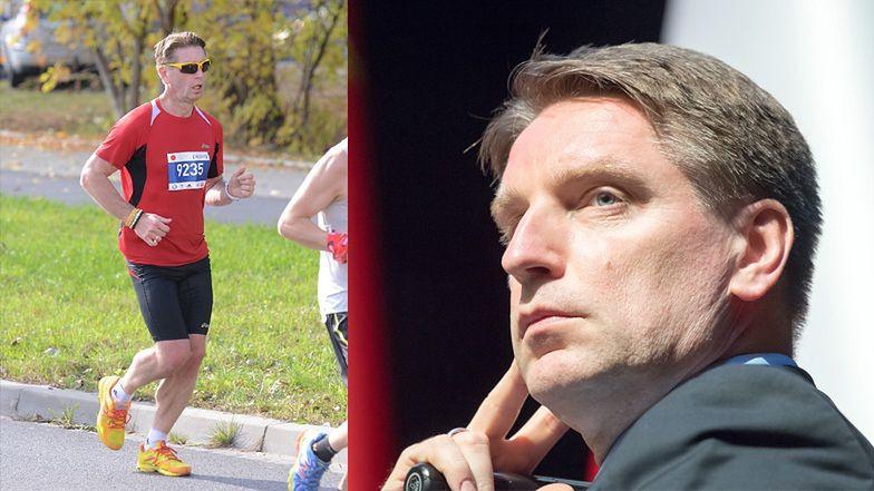 """TYLKO NA PUDELKU: Tomasz Lis nie pobiegnie już w maratonie. """"JEST ZAŁAMANY"""""""