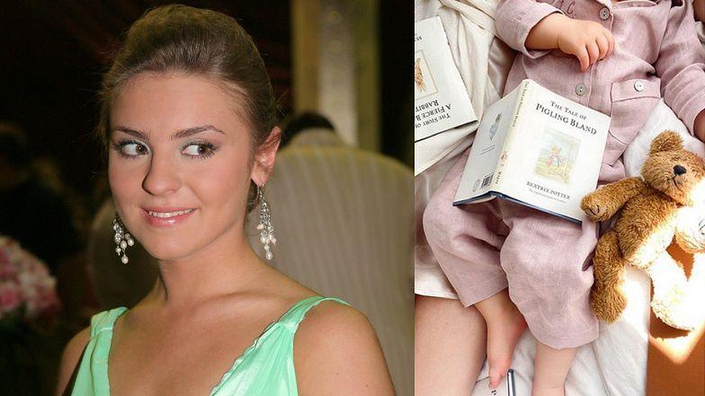 """Ambitna Kasia Tusk czyta córce PO ANGIELSKU i zaznacza: """"NIE MA OGLĄDANIA BAJEK, są książeczki"""""""