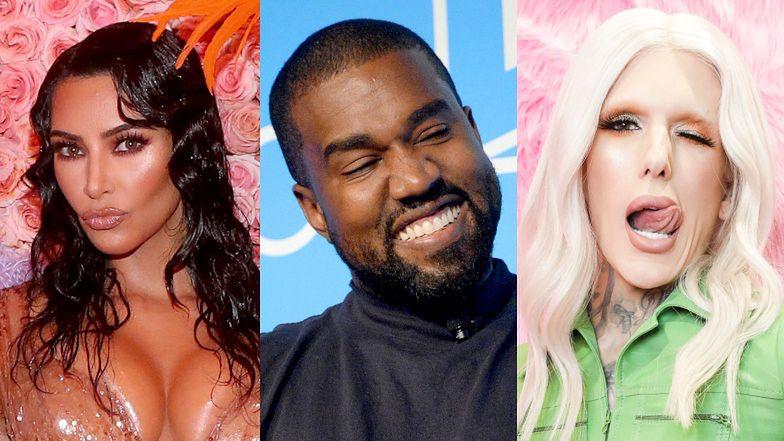 Kanye West MIAŁ ROMANS z Jeffree Starem?! Kim Kardashian ma ponoć dowody na niewierność męża